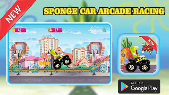 Sponge Car Arcade Racing - náhled
