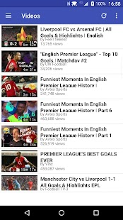 English Football Explorer- screenshot thumbnail