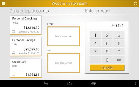 Wood & Huston Bank screenshot 8