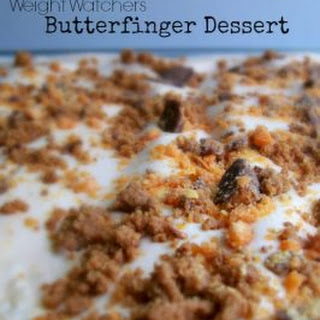 Weight Watchers Butterfinger Dessert.