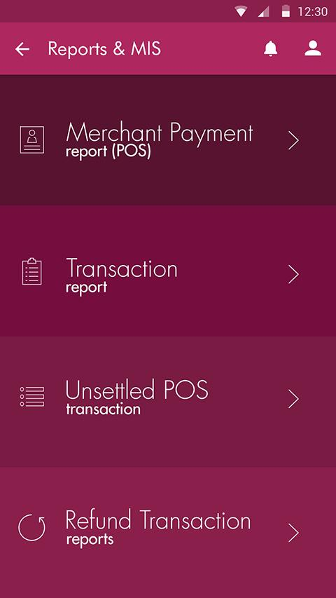 Axis Merchant App- screenshot