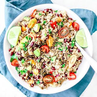 Quinoa and Black Bean Salad with Chipotle Vinaigrette Recipe
