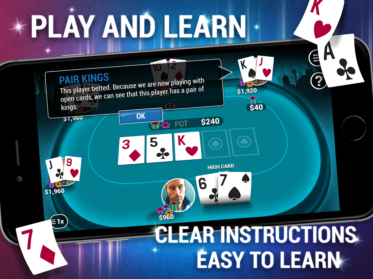 can you play texas holdem with 2 players