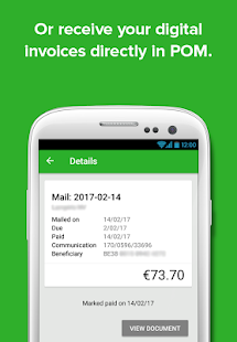 POM - invoice payments- screenshot thumbnail