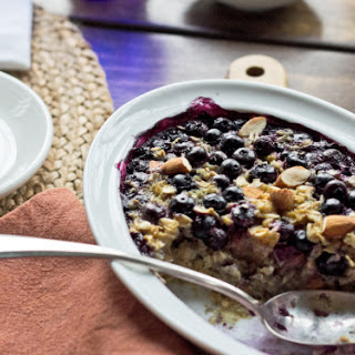 Our Little Table and Blueberry Baked Oatmeal