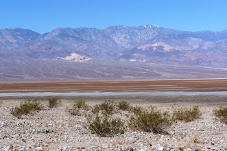 Photo: Looking across Death Valley toward the Panamint Range