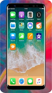 iLauncher OS 11 - Launcher For iPhone X - náhled