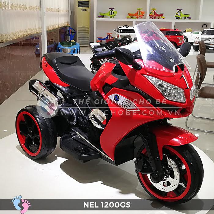 Moto điện 3 bánh cho bé NEL-1200GS 13
