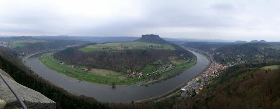 Photo: Panorama Elbbogen an der Festung Königstein