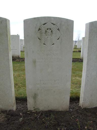 John Downie grave