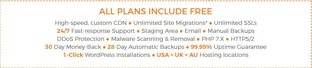 wpx plans includes