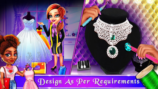 Wedding Bride and Groom Fashion Salon Game apktram screenshots 4