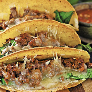 Beef and Kale Tacos