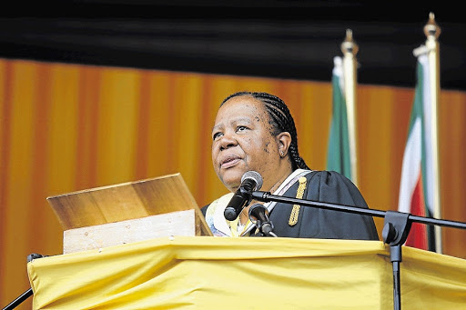 Naledi Pandor. Picture: DAILY DISPATCH