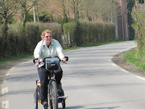 Photo: Day 13 - Cycling Along (Before the Dreaded Winds!!)