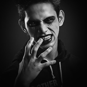 Dark Anger by Zackde Lubis - People Portraits of Men ( pwcemotions )