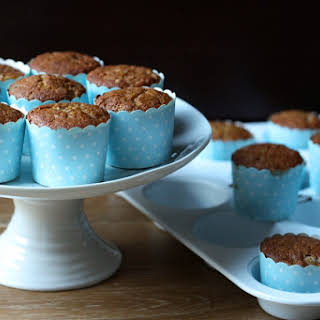 Banana-Blueberry Muffins.