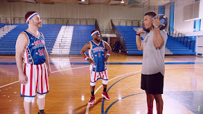 Harlem Globetrotters Train Jimmy Kimmel and Kevin Hart thumbnail