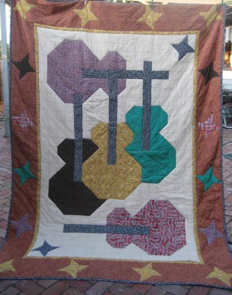 7 Rockin' Quilts for Music Lovers : quilt music - Adamdwight.com