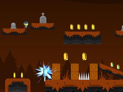 Zombie Graveyard Escape screenshot 0