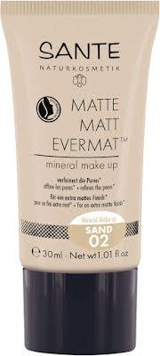 Flytande mineralfoundation matt - 02 sand