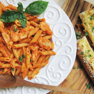 Chicken and Penne in Vodka Cream Sauce Recipe