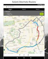 Screenshot of MapQuest GPS Navigation & Maps
