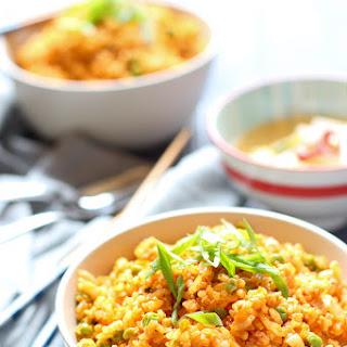 Easy 10 minute Kimchi Fried Rice