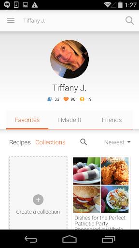 Allrecipes.com Dinner Spinner screenshot 5