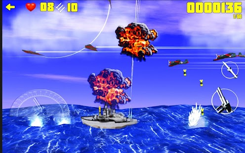 Battleships vs Warplanes - War Machines Battle - náhled