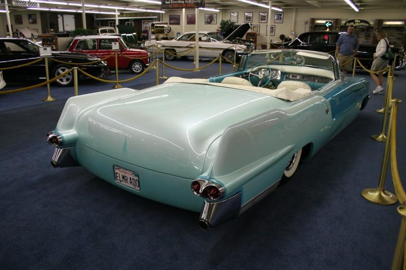 Imperial Palace S Car Museum 55 Cadillac Eldorado Convertible Built By John D Agostino