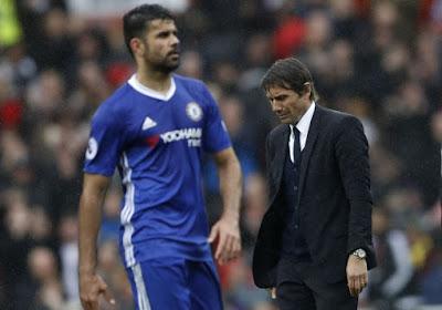 Antonio Conte réagit au départ de Diego Costa de Chelsea