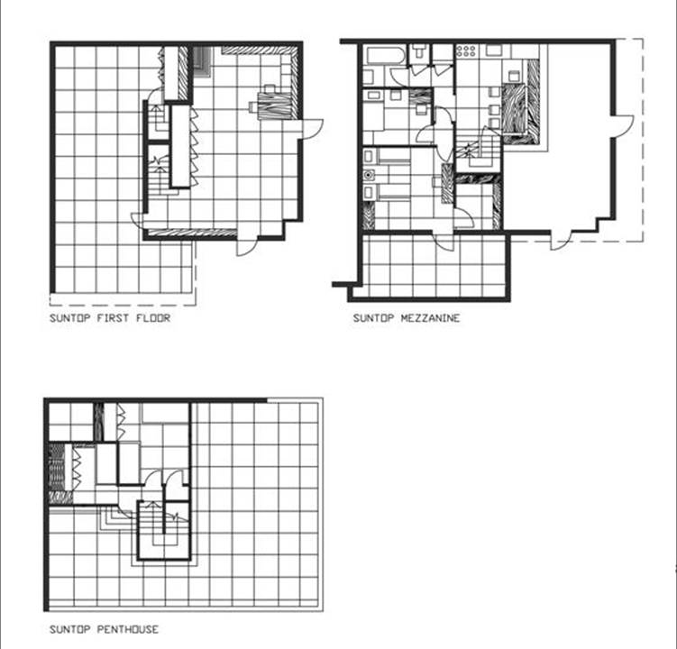 Affordable low and high rise honeycomb housing frank for Honeycomb house floor plan
