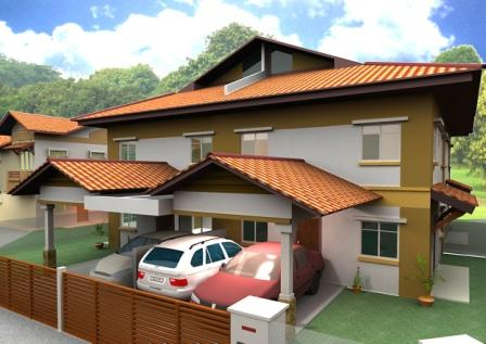 Affordable low and high rise honeycomb housing february 2008 for Quadruplex house plans