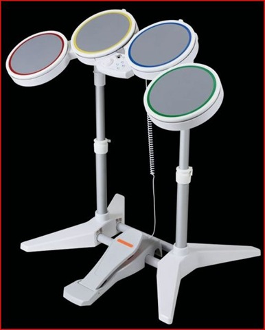 Rock Band Nintendo Wii drums