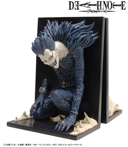 death note bookend