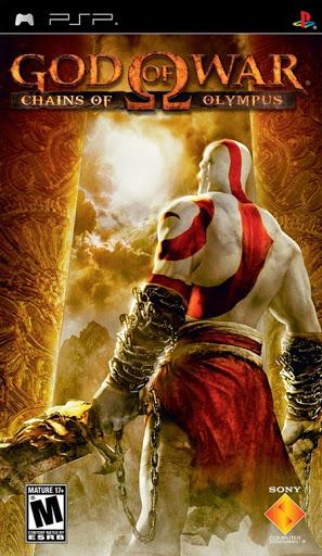 god of war capa psp