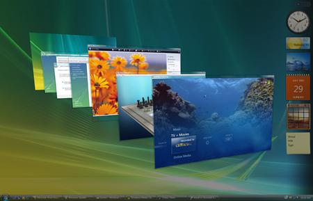 Windows Vista 3D Flip
