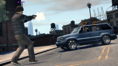 Grand Theft Auto IV multplayer