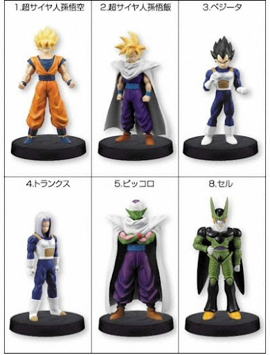 candy toy dragon ball z