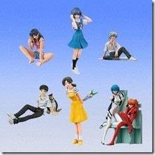 Neon Genesis Evangelion Sadamoto Yoshiyuki Collection Gashapon (New Theater Version)