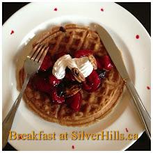 Photo: Breakfast at SilverHills.ca #intercer #health #pancake #waffles #strawberry #fruits #veggie #veggies #canada #silverhills #britishcolumbia #cream #sweet #food #healty #vegan #nuts #vegetarian - via Instagram, http://instagram.com/p/ai2iadpfoX/