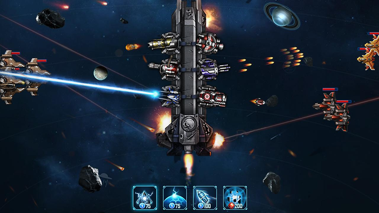 Space War : Galaxy Defender- screenshot
