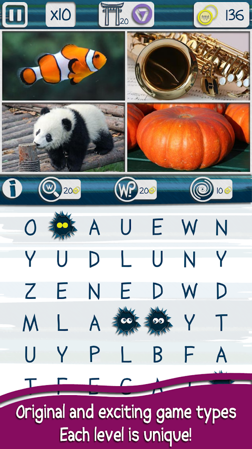 Worchy! Picture Word Search- screenshot