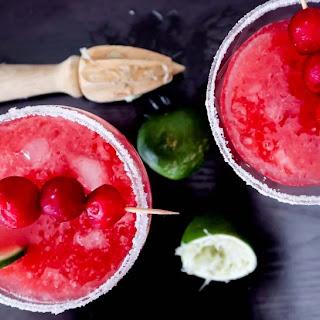 Sour Cherry Margarita.