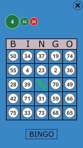 Classic Bingo Touch Screenshot