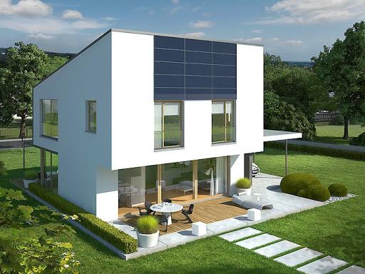 projekt EX 12 z wiatą Energo Plus