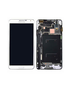 SAMSUNG GALAXY NOTE III / NOTE 3 LCD DISPLAY White