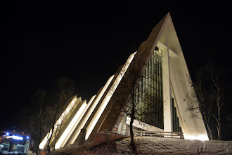 Photo: The Cathedral of Tromso - Lutheran