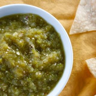 Roasted Green Chile & Tomatillo Salsa Verde